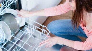 Lai ne tikai trauki spodri: kā mazgāt trauku mazgājamo mašīnu