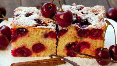 Cepam un ēdam ķiršu kūkas - 25 receptes saldi grēcīgai nedēļas nogalei