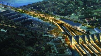 Dzelzceļa stacijas būvniecība sadārdzinājusies par vairāk nekā 230 miljoniem eiro, vēsta raidījums