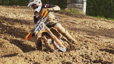 Nacionālā kausa izcīņas posmā motokrosā Stendē 'MX Pro' klasē uzvar Filipsons