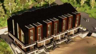 Saulkrastos, kādreizējā naktskluba 'Katrīnbāde' vietā, būvēs jaunu viesnīcu