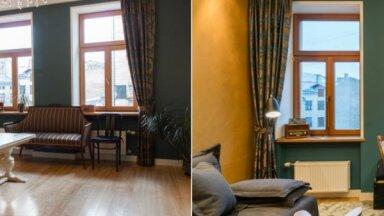 ФОТО. До и после: Квартира в доме, где раньше жил Карлис Улманис