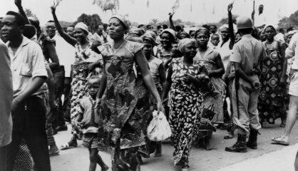 1960. gads: Āfrikas valstis atgūst neatkarību, par Latvijas brīvību ASV prezidentam raksta trimdas latvieši