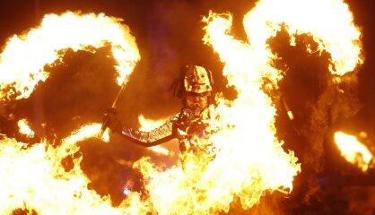 Grilētas dūjas un iesprūdusi Bjorka. Olimpisko atklāšanas ceremoniju slavenākie brāķi