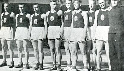 1935. gads: Brīvības pieminekļa atklāšana, uzvara 'EuroBasket 1935', sākas stahanoviešu kustība
