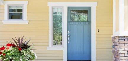 Визитная карточка дома: как выбрать самый подходящий цвет входной двери