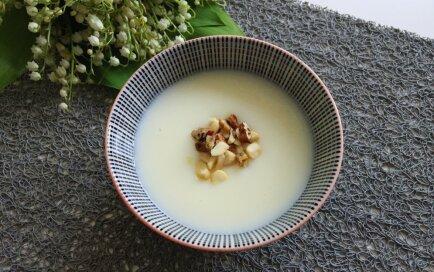 Piena ķīselis ar vaniļu