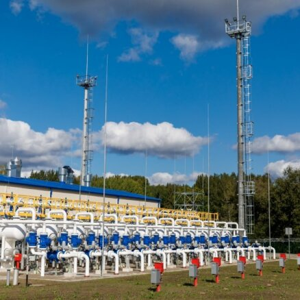 Крупнейшее в регионе латвийское газохранилище может опустеть уже к январю