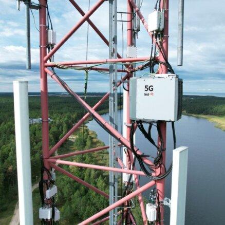 'LMT' šogad uzstādīs simts 5G bāzes stacijas