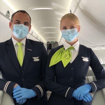airBaltic приглашает на дни открытых дверей бортпроводников
