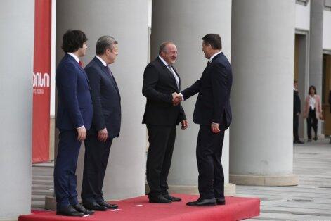 Vējonis: Latviju un Gruziju saista mūsu valstu un tautu draudzība