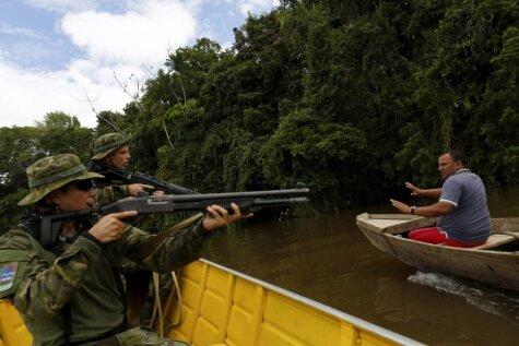 Eldorado meklējot: Nelegālas zelta ieguves Amazonē