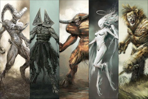 Эти 12 заново нарисованных знаков зодиака, кажется, родом из другого измерения