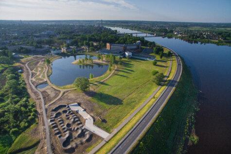 В Даугавпилсе построили первый в Балтии велопарк; ты можешь успеть на открытие!