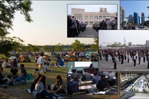 Жизнь в Южной и Северной Кореях — семь пар фото, подчеркивающих разницу