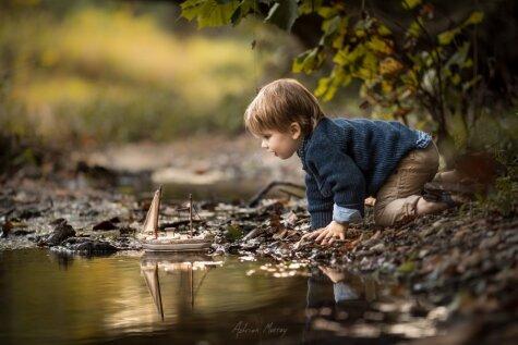 Угроза для здоровья сына вдохновила отца на создание этой прекрасной фотосерии