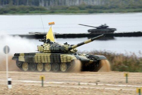 Krievija uzvar tanku čempionātā