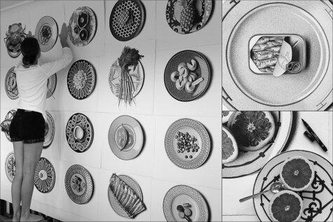 23 гипер-реалистичных рисунка еды (и модных тарелок!)