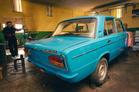 Iespējams, skaistākā Latvijā atrodamā brīvdienu auto tapšana