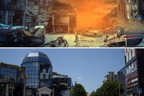Serbijas pilsēta Niša piedzīvo apokalipsi
