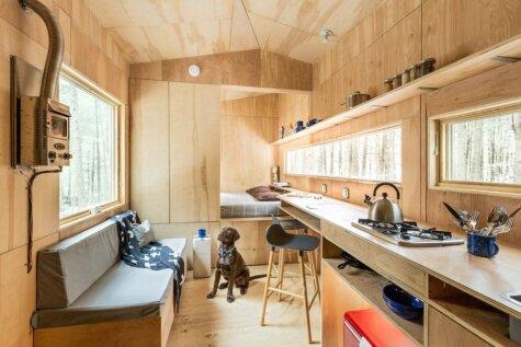 Мини-дома для отдыха, в которых не грустно было бы пожить в латгальской глуши