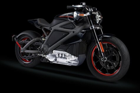 'Harley-Davidson' ar elektromotoru