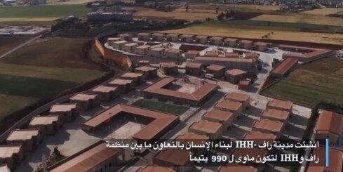 Turcija Sīrijā uzceļ paraugciematiņu pilsoņkara bāreņiem