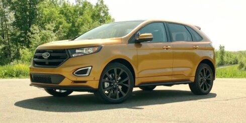 Jaunais 'Ford Edge' apvidnieks būs pieejams arī Eiropā