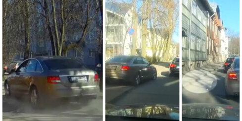 Igauņu nekauņa ar 'Audi'