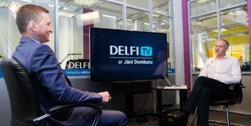 'Delfi TV ar Jāni Domburu': Armands Krauze – pilna intervija