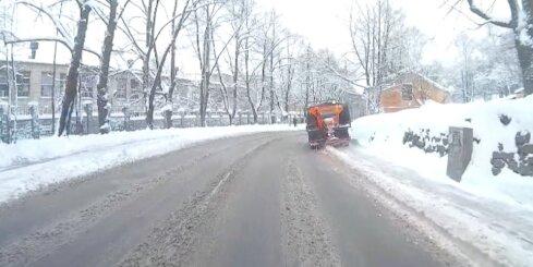 Kā sniegu tīra Iļģuciemā