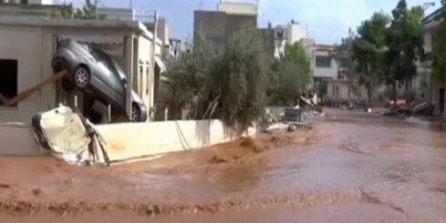 Plūdi Grieķijā