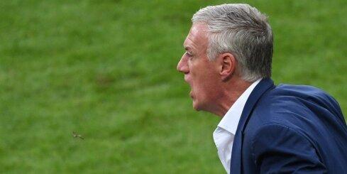 Dešāns pēc neveiksmes EČ finālā nedomā atstāt Francijas izlases trenera amatu