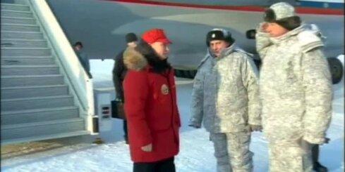 Putins ciemojas Arktikā