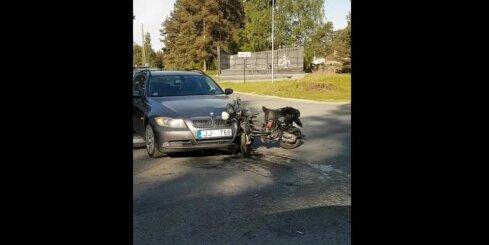 Autoavārija pie Baložiem
