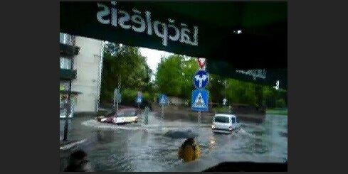 Pēc lietus Daugavpilī