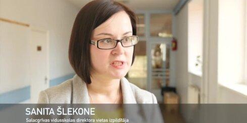 'Positivus 10x10': Salacgrīvas skolas saimniece Sanita Šlekone