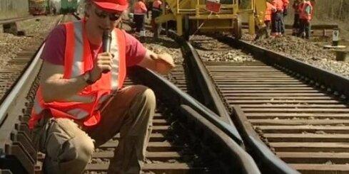 Iespaidīgi dzelzceļa remontdarbi