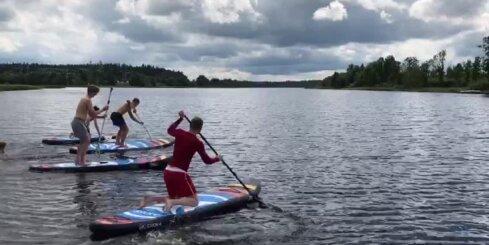 Latvijas U20 hokeja izlases vasaras treniņnometne