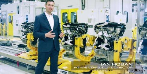 'Jaguar F-Type' tagad arī ar četrcilindru dzinēju