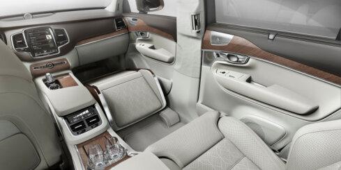'Volvo XC90' īpaši greznā versija 'Lounge Console'