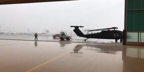 Latvijā ierodas leģendārie 'Black Hawk' helikopteri