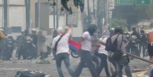Protesti Venecuēlā