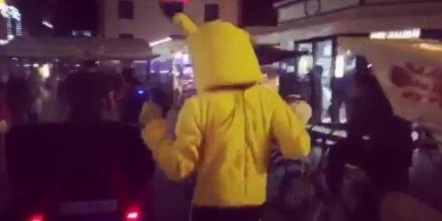 Raspopova Pokemons plosās Vecrīgā