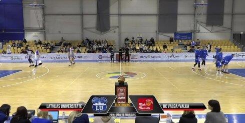 'OlyBet' basketbola līga: LU - 'Valga-Valka/Maks&Moorits'. Spēles labākie momenti