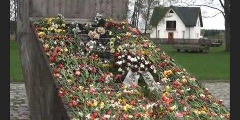 Aculiecinieks: 9. maijs Salaspils memoriālā