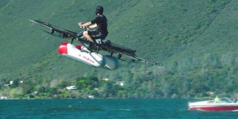 Drons cilvēka pārvadāšanai 'Kitty Hawk Flyer'