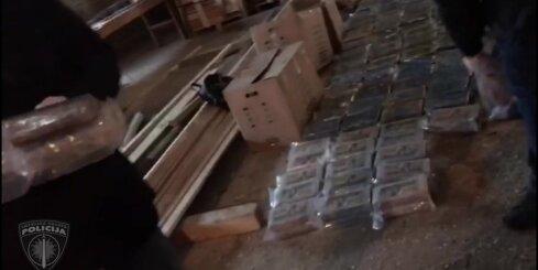 Koknesē aizturētā kokaīna krava