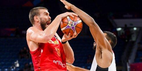 Marks Gasols 'ievelk' Spānijas izlasi 'Eurobasket 2017' pusfinālā