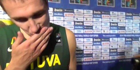 Lietuvai pirmais zaudējums Pasaules kausā basketbolā